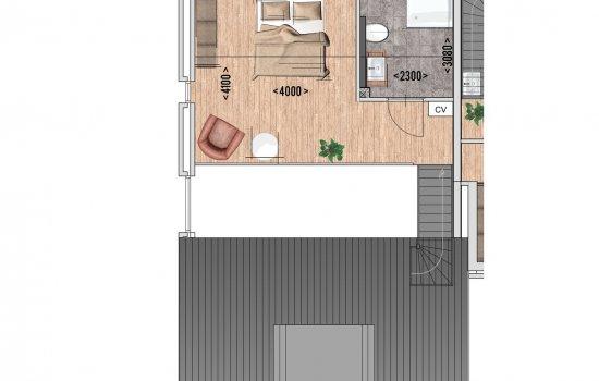 9 huur appartementen, bouwnummer 5