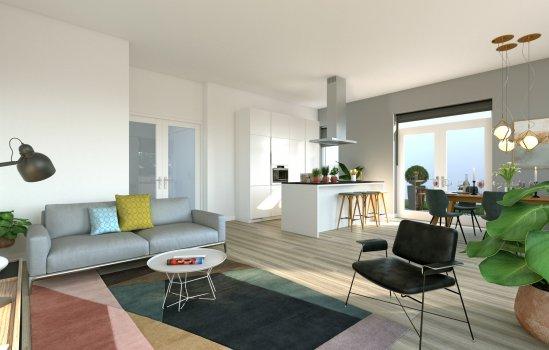 9 huur appartementen, bouwnummer 6
