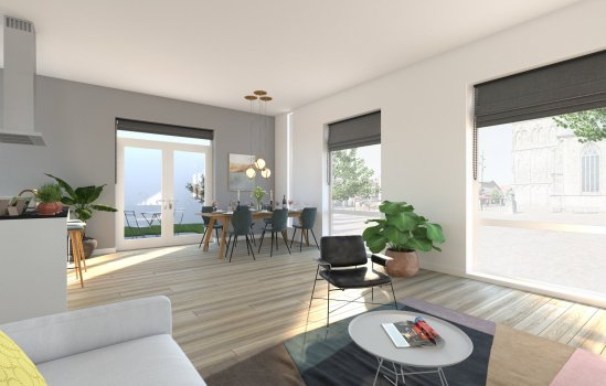 9 huur appartementen, bouwnummer 7
