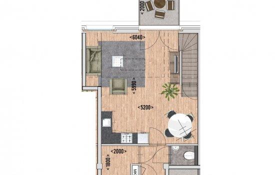 9 huur appartementen, bouwnummer 8