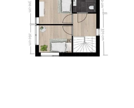 Patio woning, bouwnummer 2