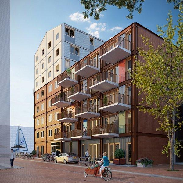 Compacte appartementen, bouwnummer 12