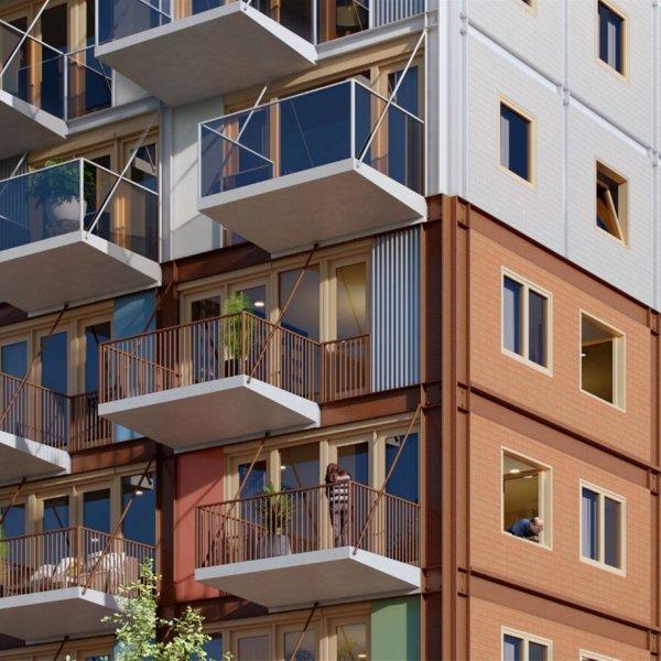 Medium appartementen, bouwnummer 17