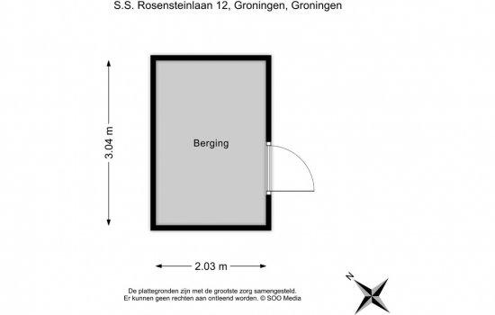 S.S. Rosensteinlaan 12, GRONINGEN