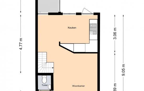 Eerste Spoorstraat 23, GRONINGEN