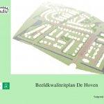 Beeldkwaliteitsplan De Hoven