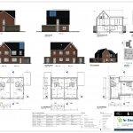 Bouwtekening van bouwnummer 149 en 151