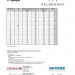 Prijslijst Heldenhof