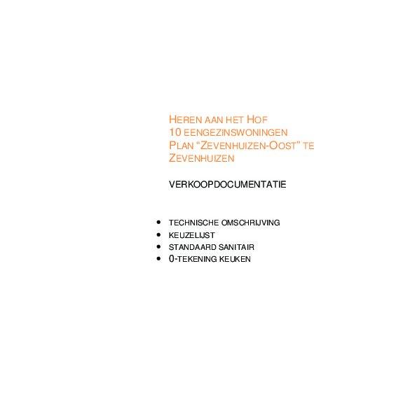 technische omschrijving en meerwerk