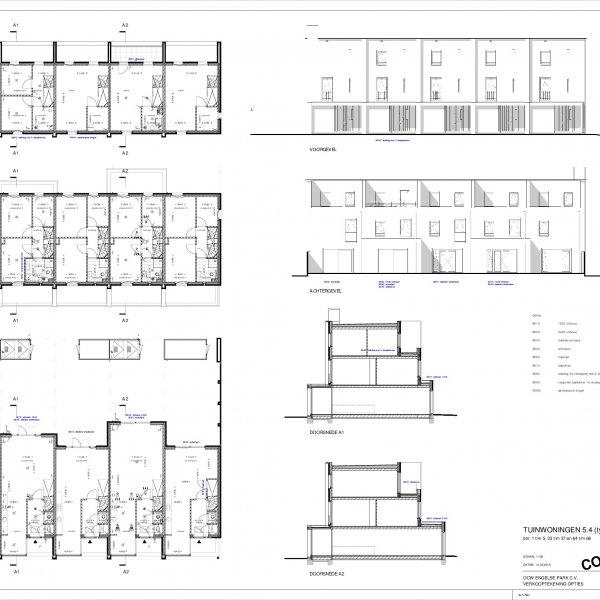 Optietekeningen Tuinwoning 5.4