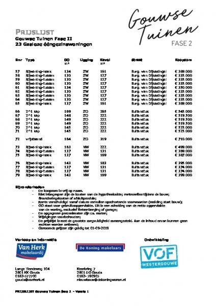 Prijslijst Gouwse Tuinen Fase II origineel1560854857 1560854867.pdf