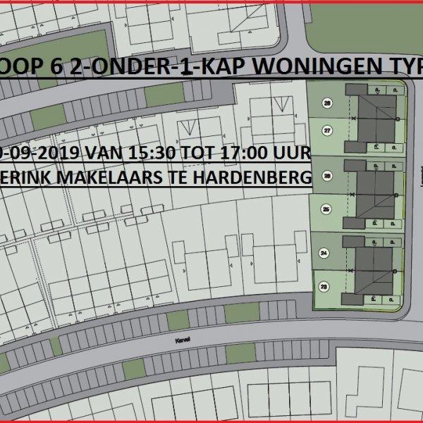 Nieuwbouwproject De Cirkel II in Hardenberg
