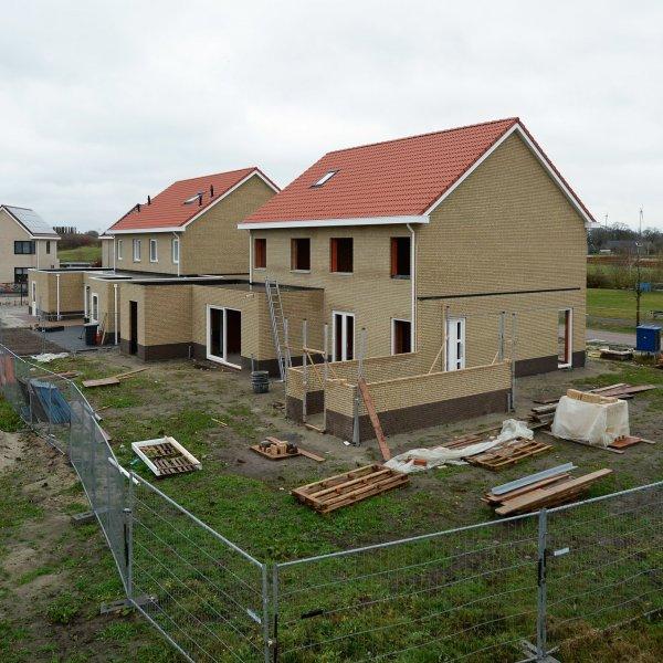 Nieuwbouwproject Twee-onder-één-kapwoningen Harm Koningstraat in Coevorden