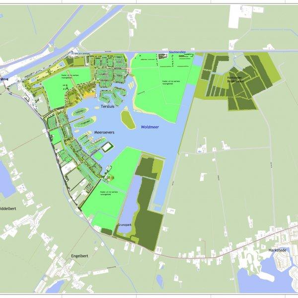 Nieuwbouwproject De Vossenburglaan (Tersluis - Vlek 10) in Meerstad