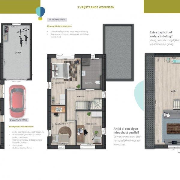 Nieuwbouwproject Zomerdijk | Tersluis in Meerstad