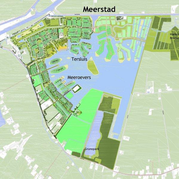 Nieuwbouwproject Zomerdijk   Tersluis in Meerstad