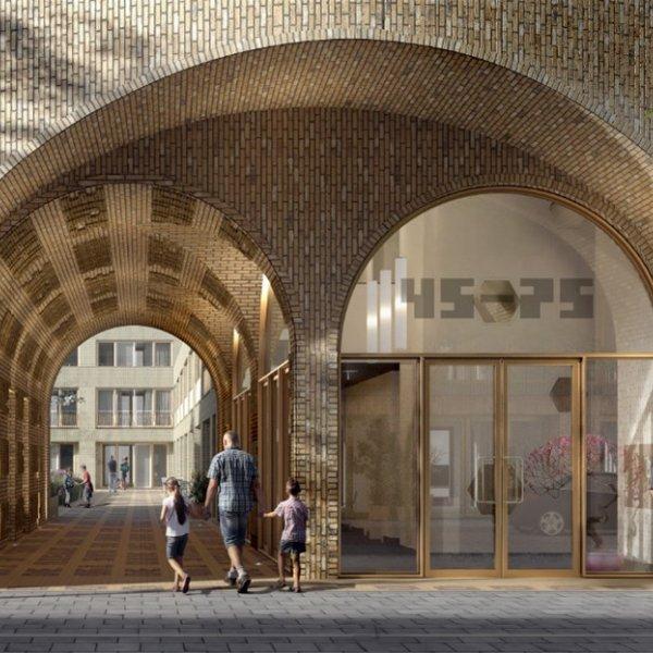 Nieuwbouwproject De Verbinding Amsterdam in Amsterdam