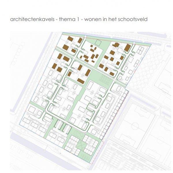 Nieuwbouwproject Parijsch: Architectenkavels in Culemborg