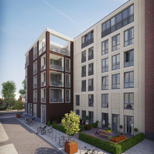 Nieuwbouwproject Briljant aan de Amstel in Amsterdam