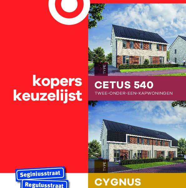 Koperskeuzelijst Cygnus Cetus 540