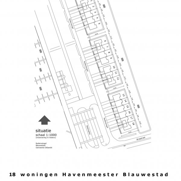 Nieuwbouwproject Havenmeester Blauwestad in Blauwestad