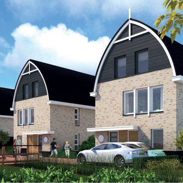 Nieuwbouwproject Molenwerf - 3 vrijstaande dijkwoningen in Rijnsaterwoude