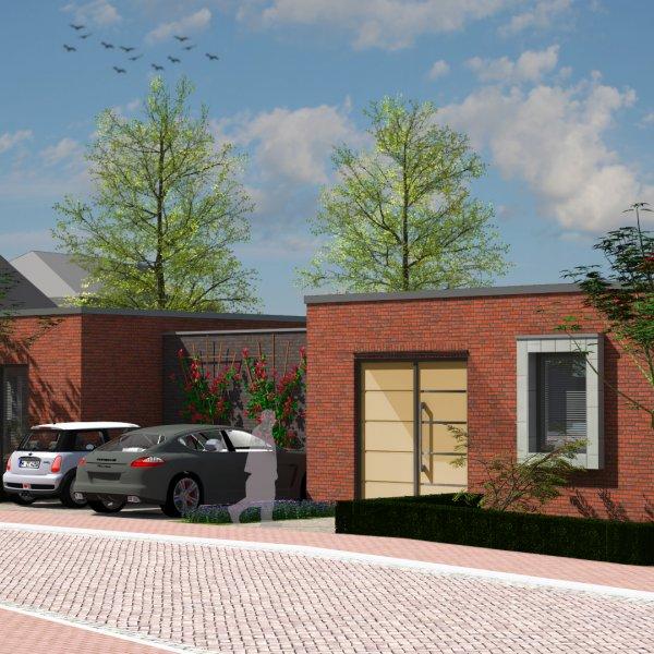 Nieuwbouwproject Sint Hubert 3 Patiowoningen in Sint Hubert