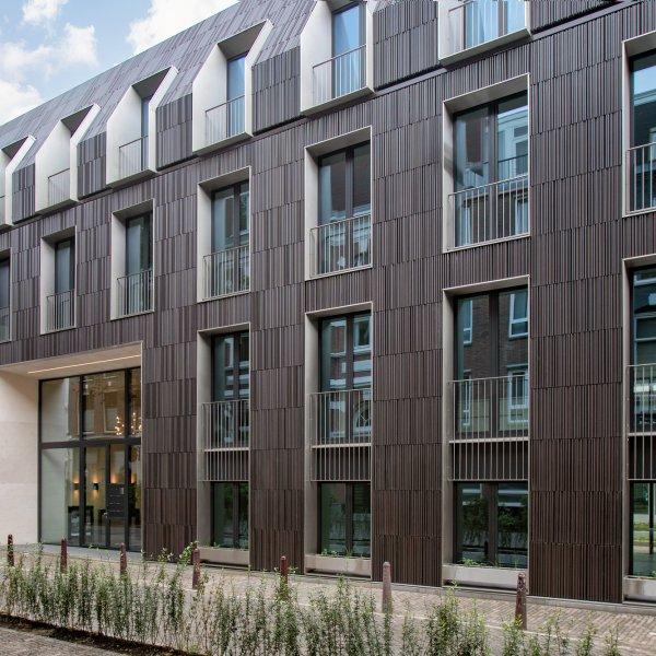 Nieuwbouwproject HOF City apartments Kerkstraat Amsterdam in Amsterdam