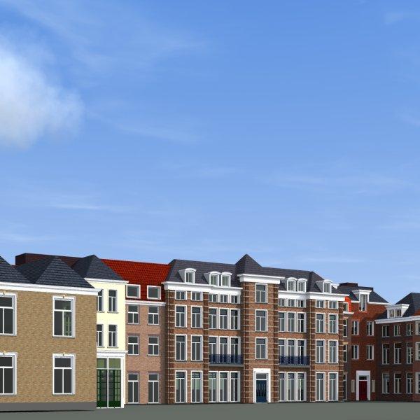Nieuwbouwproject Gravin Machteld (voormalig gemeentehuis 's-Gravenzande) in 's-Gravenzande