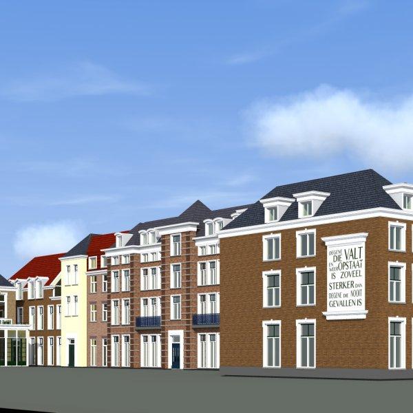 Nieuwbouwproject De Gravin (voormalig gemeentehuis 's-Gravenzande) in 's-Gravenzande