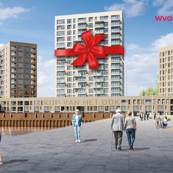 Nieuwbouwproject Kop van het Dok in Vlissingen