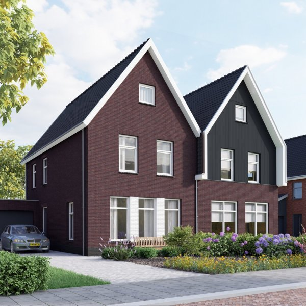 Nieuwbouwproject De Hoven | fase 3-I en 3- II aan het  Longkruid in Leek