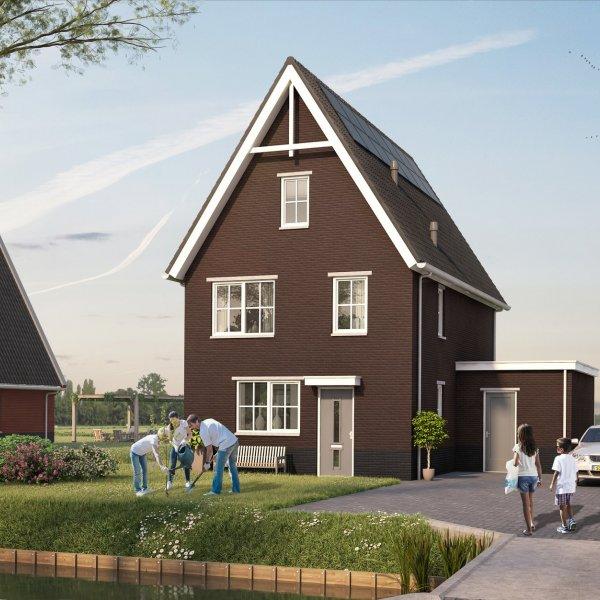 Nieuwbouwproject Tentweg - fase 2 in Stolwijk