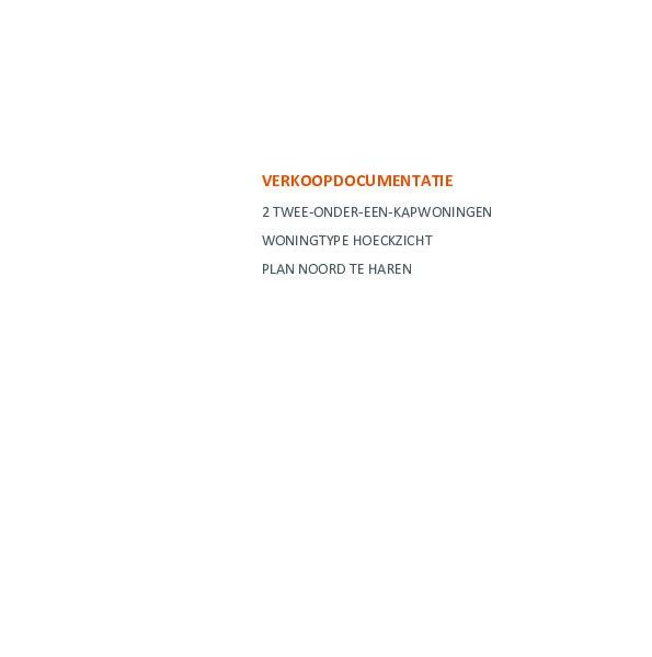 Meerwerk en technische omschrijving 2 onder 1 kap