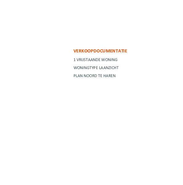 Meerwerk en technische omschrijving vrijstaande woning