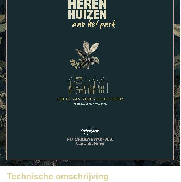 Technische omschrijving Herenhuis-special