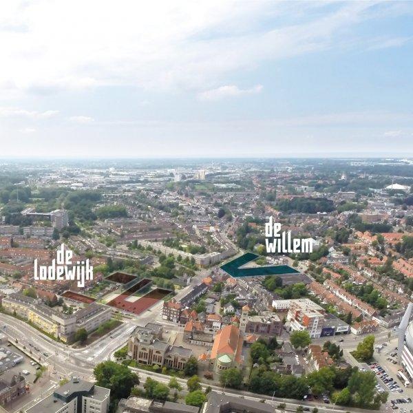 Nieuwbouwproject Eindhoven - De Lodewijk (de Gebroeders) in Eindhoven