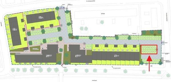 Nieuwbouwproject Mercurius Parkeerplaatsen in Assen