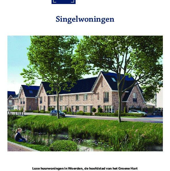 Brochure type singelwoningen