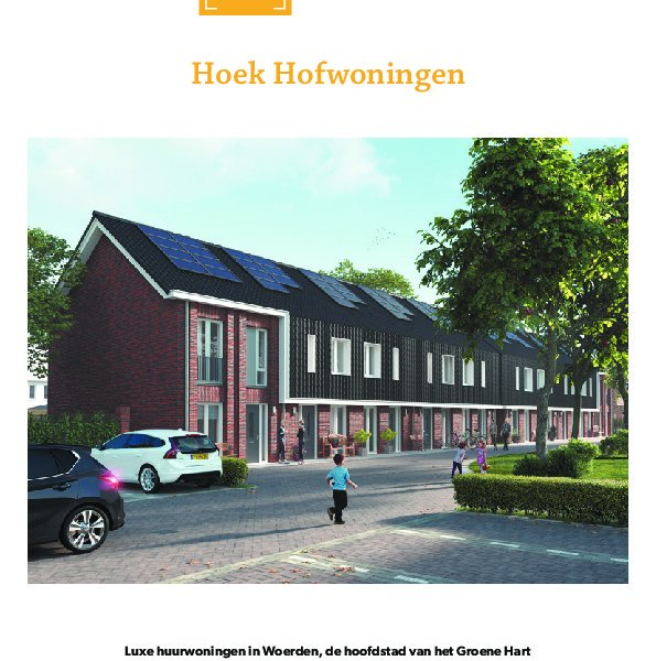 Brochure type hofhoek
