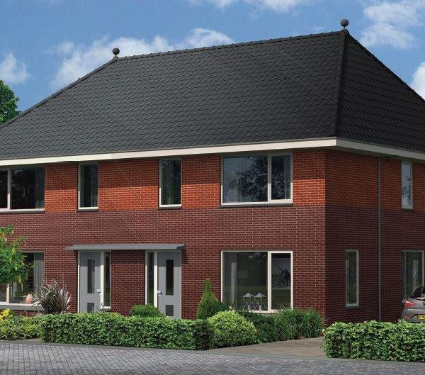 Nieuwbouwproject A.M. Horalaan in Midwolda