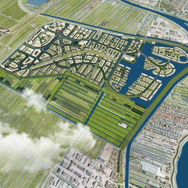 Nieuwbouwproject Aan het Polderhart in Gouda