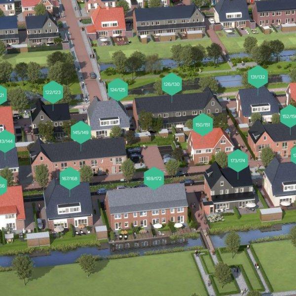 Nieuwbouwproject Waterrijk fase 4B Boskoop in Boskoop