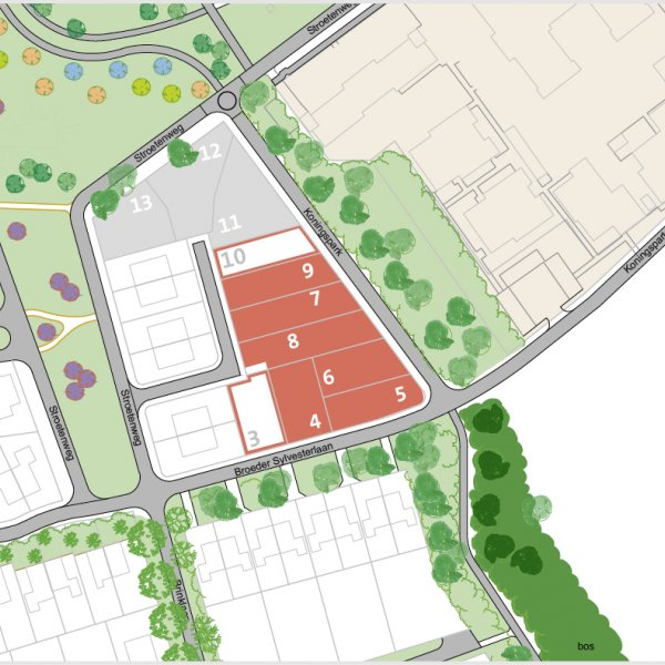 Nieuwbouwproject Parkvilla's II in Nooitgedacht