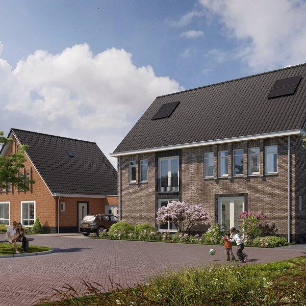 Nieuwbouwproject Den Eik te Westerbeek in Westerbeek