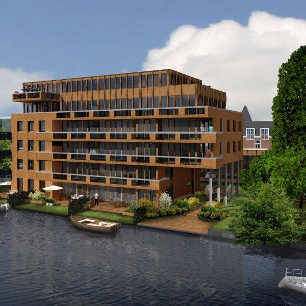 Nieuwbouwproject Westzijde 114 'De Pauw' in Zaandam