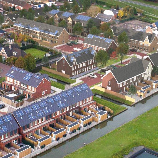 Nieuwbouwproject Watertuinen III in Maasdijk