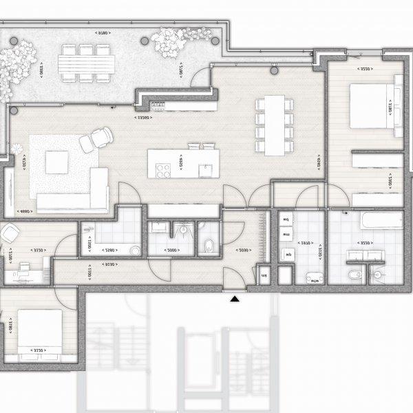 Nieuwbouwproject Nuenen - Panta Rhei - 14 luxe appartementen in Nuenen