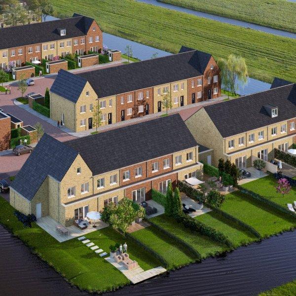Nieuwbouwproject Weidse Wetering in Hoogmade