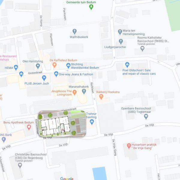 Nieuwbouwproject Vlijtborg in Bedum